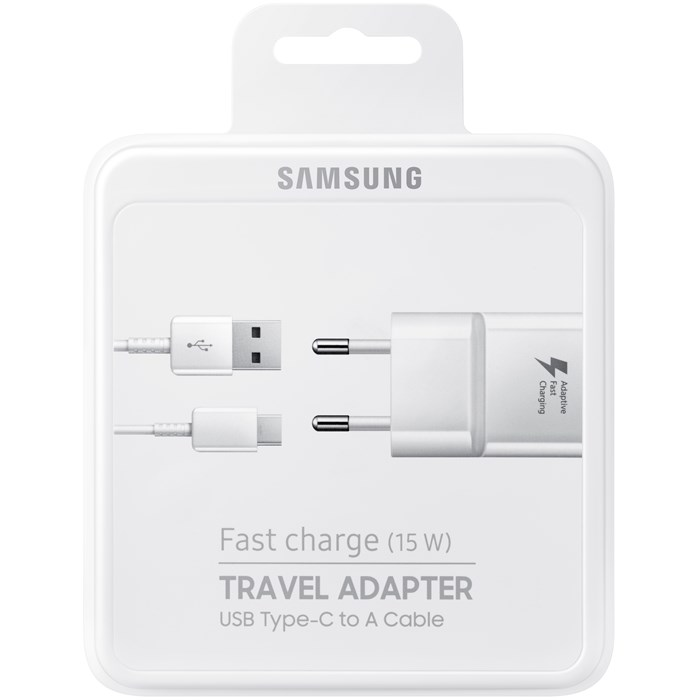 SAMSUNG FAST TRAVEL CHARGER USB-C