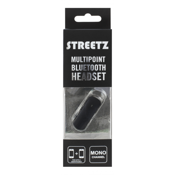 Streetz Multipoint Bluetooth Headset.